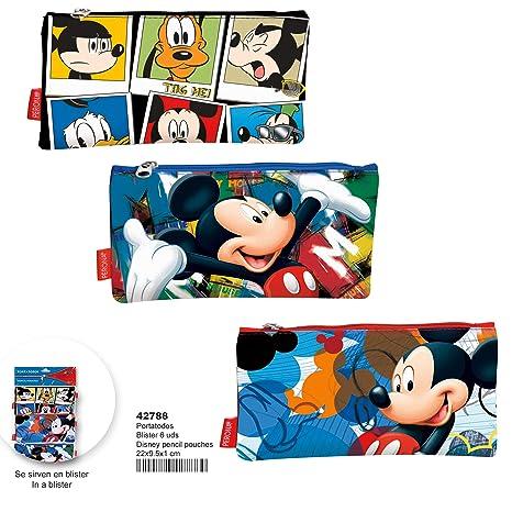 Montichelvo Montichelvo Pencil Pouch Flat Disney (Blister 6 ...