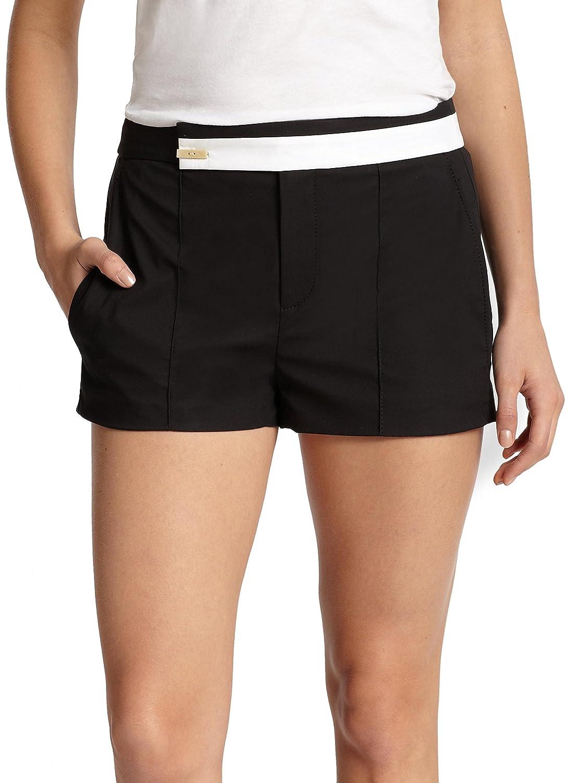 HELMUT LANG Poplin Black White Shorts