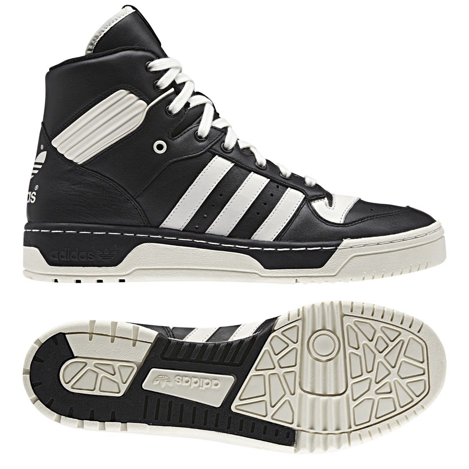 Galleon - Adidas Originals Rivalry Hi Patrick Ewing G96545 Black Chalk White  Men s Shoes (Size 11) ce916dfb1b5d