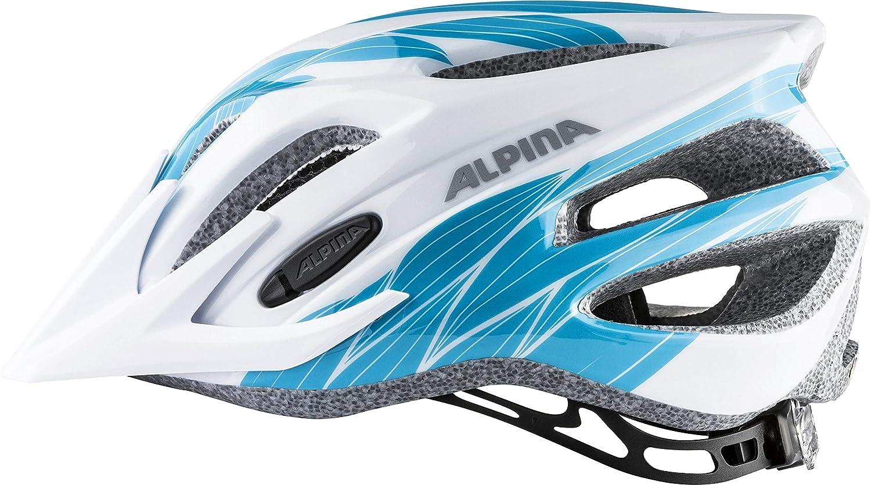 Alpina 9678134 - Casco de Bicicleta Infantil, Multicolor (White ...