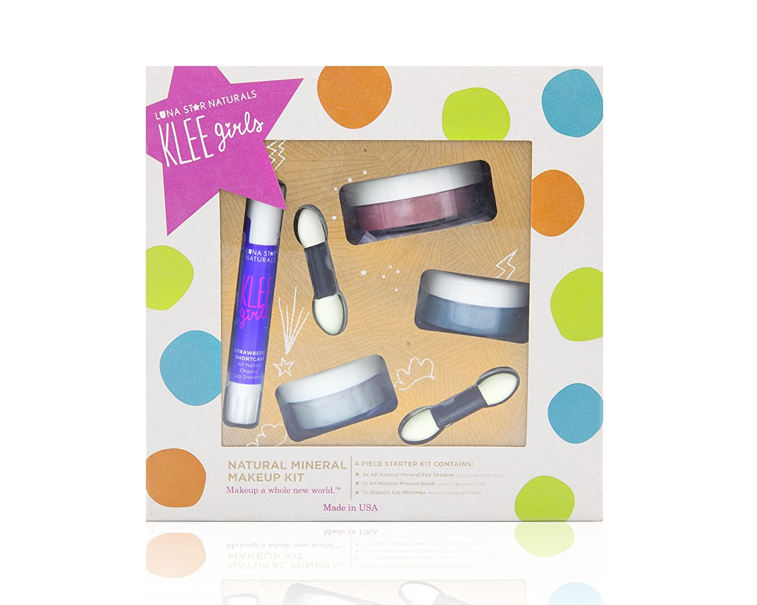 Luna Star Naturals Klee Girls 4 Piece Kit Shining Through Gift Set 1 Count LST0101