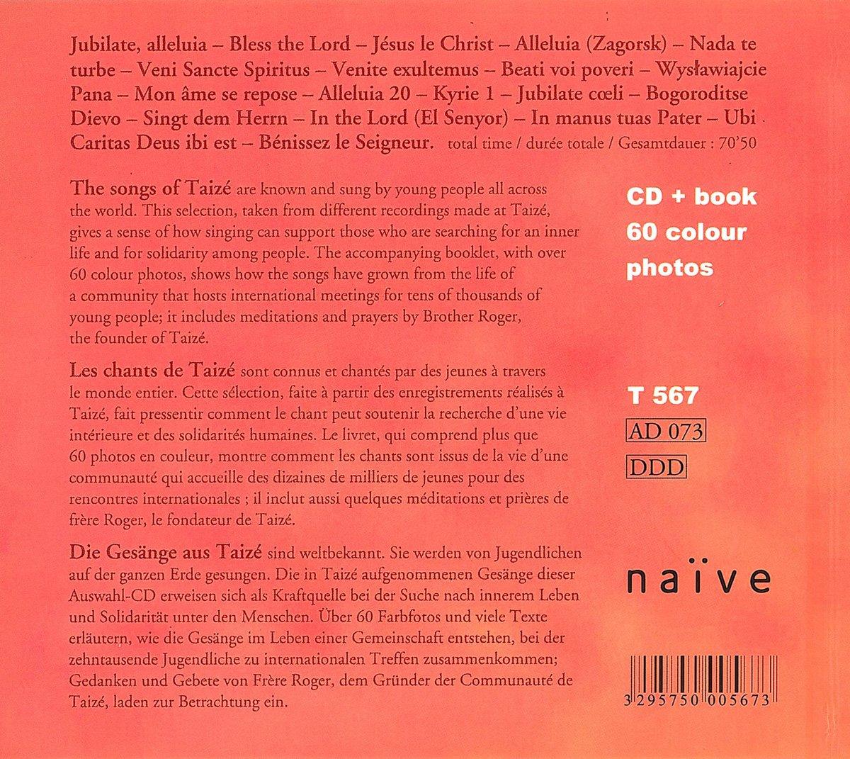 - Songs of Taize - Amazon.com Music