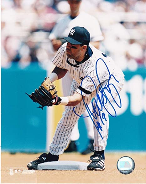 Autographs-original Coa Jsa Provided Luis Sojo Signed Baseball Yankees Baseball-mlb
