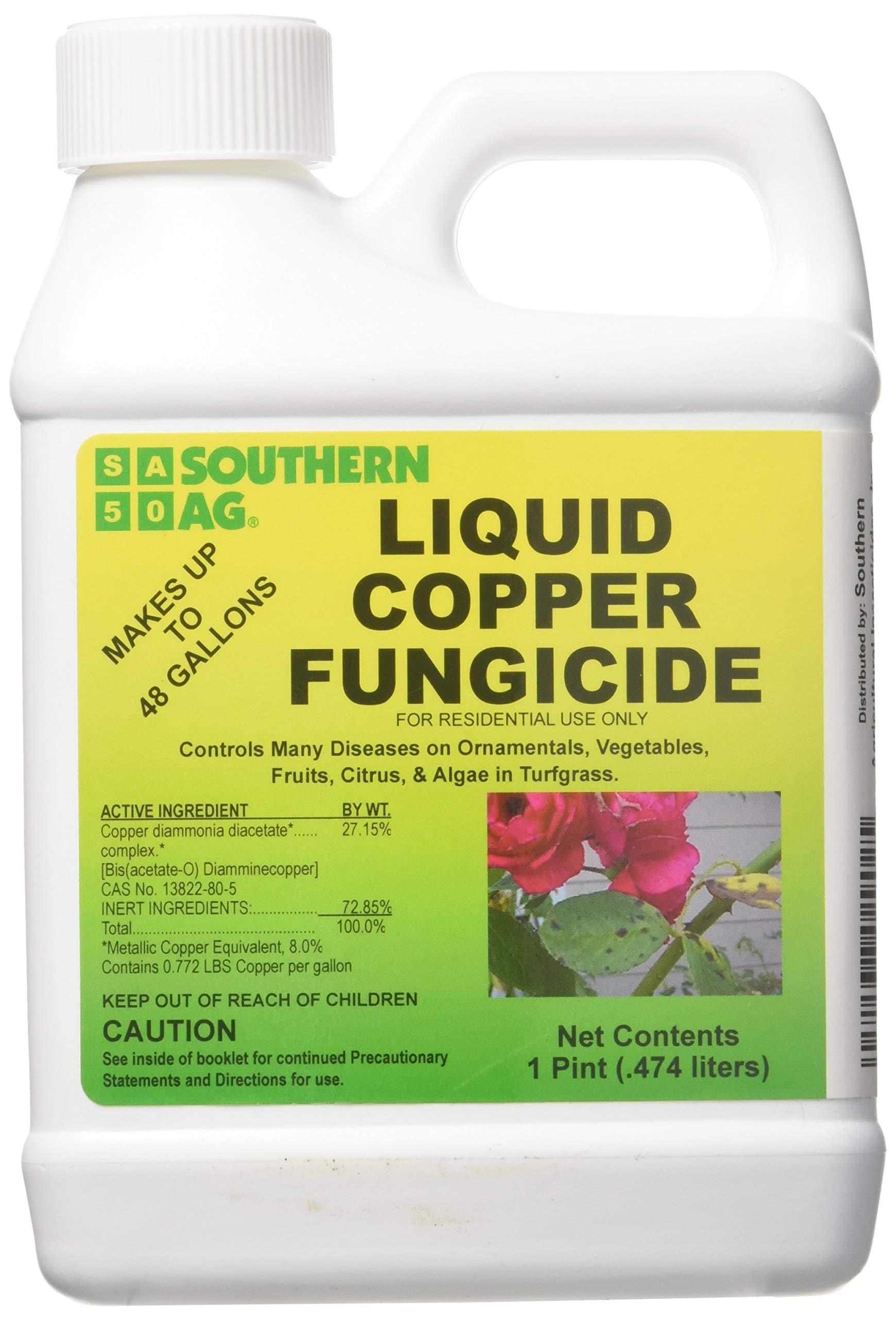 Southern Ag - Liquid Copper Fungicide - Fungicide, 16oz