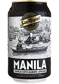 San Miguel Manila Lata de Cerveza - 330 ml