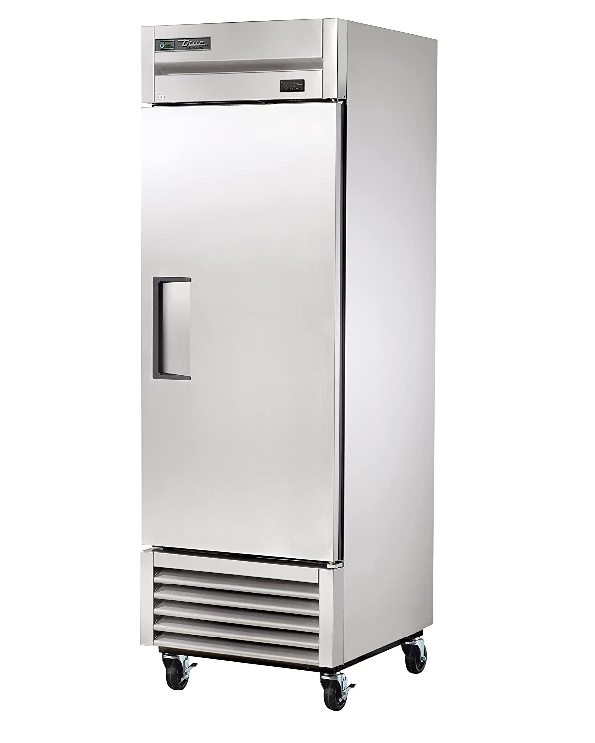 "True T-23F-HC Reach-in Solid Swing Door Freezer with Hydrocarbon Refrigerant, Holds -10 Degree F, 78.375"" Height, 29.5"" Width, 27"" Length"