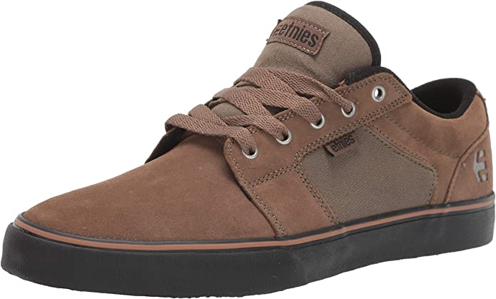 Etnies Barge LS Sneakers Skateboardschuhe Herren Olivbraun