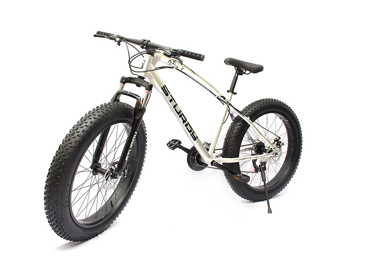 Sturdy Fat Bike with 26X4 inch Tires