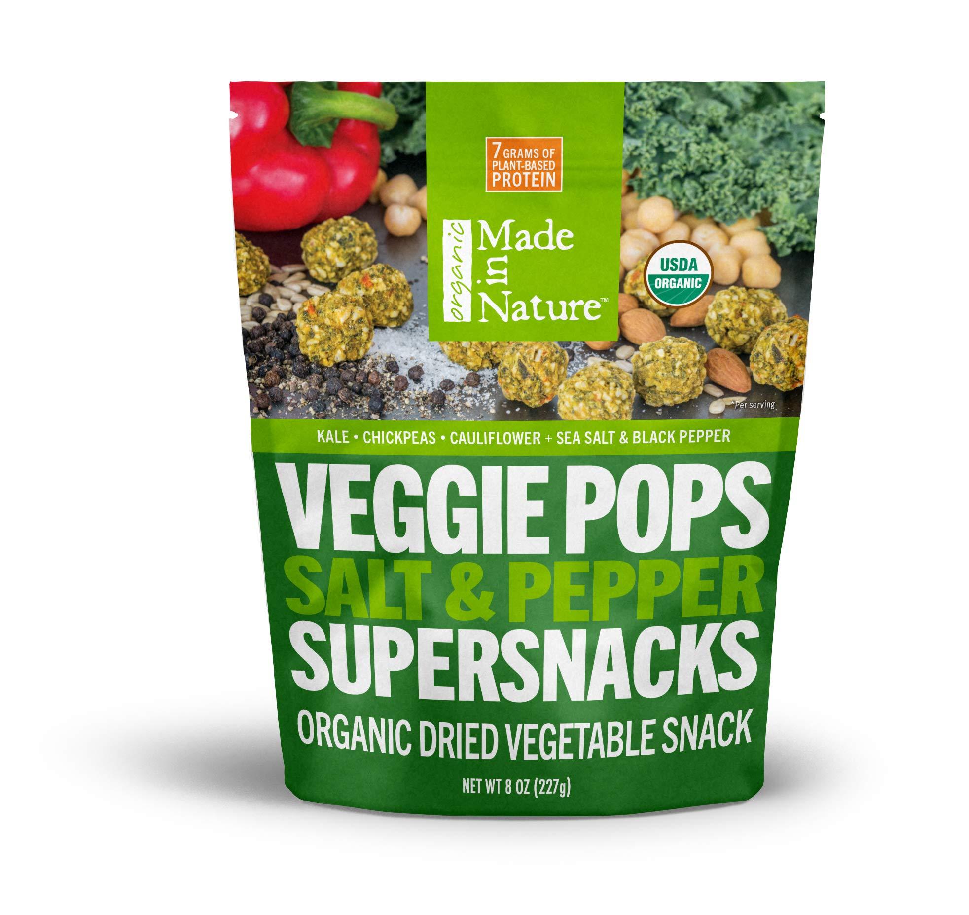 made in nature veggie pops