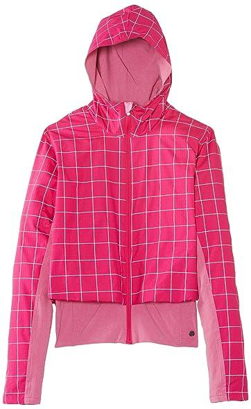 Brooks Women's PureProject Jacket, Color: Fuschia Plaid/Fuschia, ...