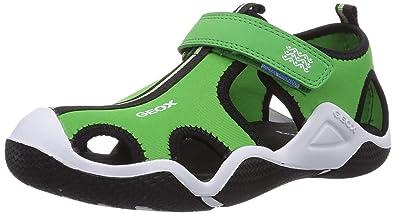Geox Boys' Jr Wader C Sandals