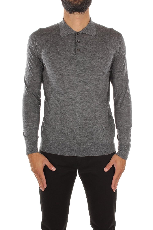 UMM986ARDESIA Prada Sweatshirts Men Wool Gray