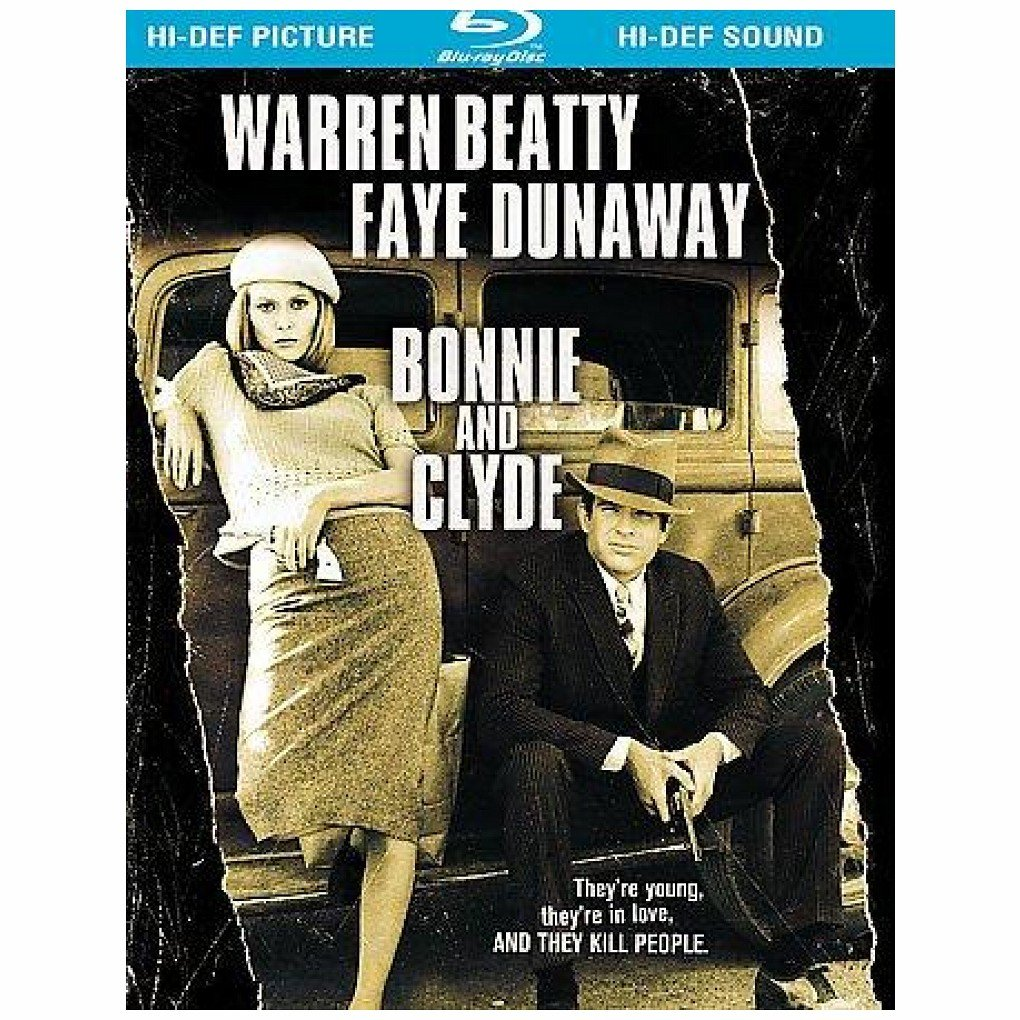 Blu-ray : Bonnie and Clyde (Restored, Remastered, , Dubbed, Digibook Packaging)