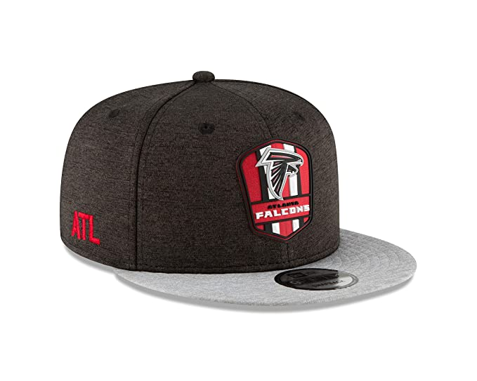 Amazon.com  New Era Atlanta Falcons 2018 NFL Sideline Road Official 9FIFTY  Snapback Hat  Sports   Outdoors 86c4e2db3