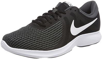 Nike Damen Wmns Revolution 4 Eu Traillaufschuhe, Schwarz (Black/White/Anthracite 001), 43 EU