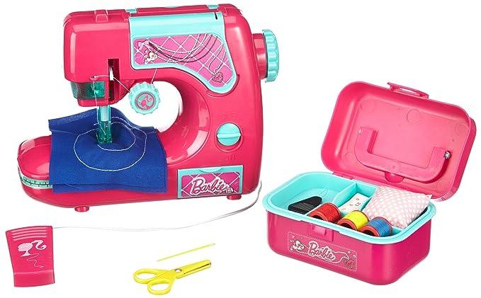 Lexibook Barbie Sewing Machine Amazoncouk Toys Games Simple Barbie Sewing Machine Instructions
