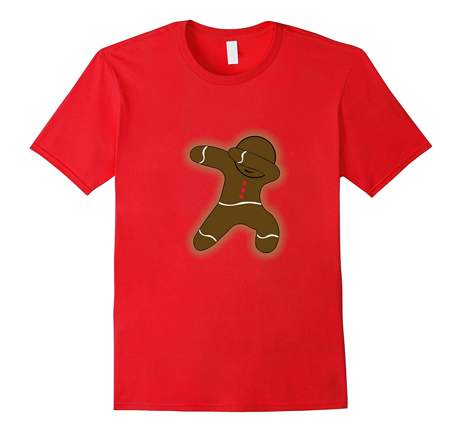 Dabbing Gingerbread Man Christmas 2017 Shirt-ANZ