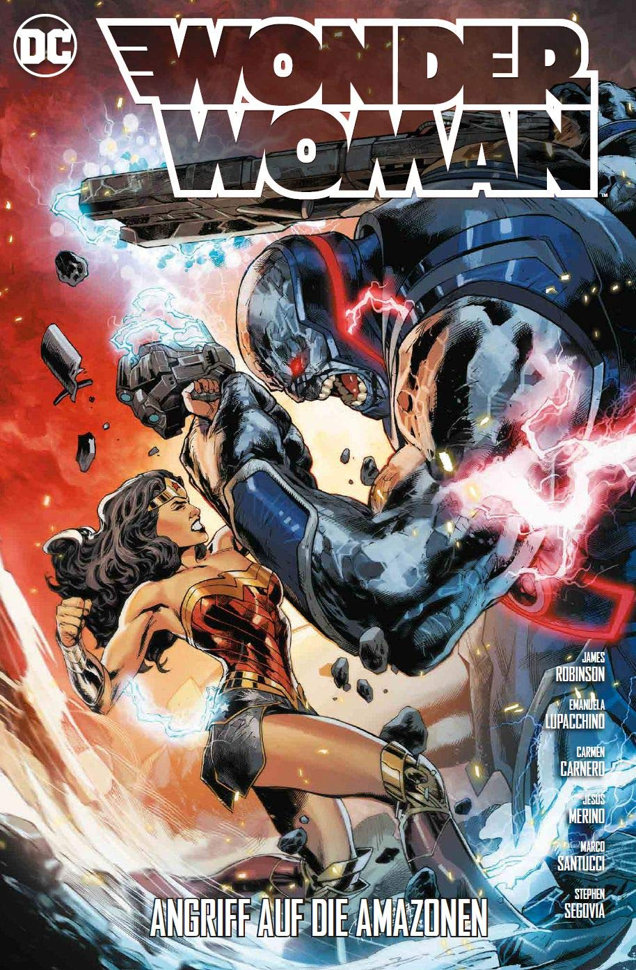 WONDER WOMAN  6 Angriff der Amazonen  Panini Comics  2018
