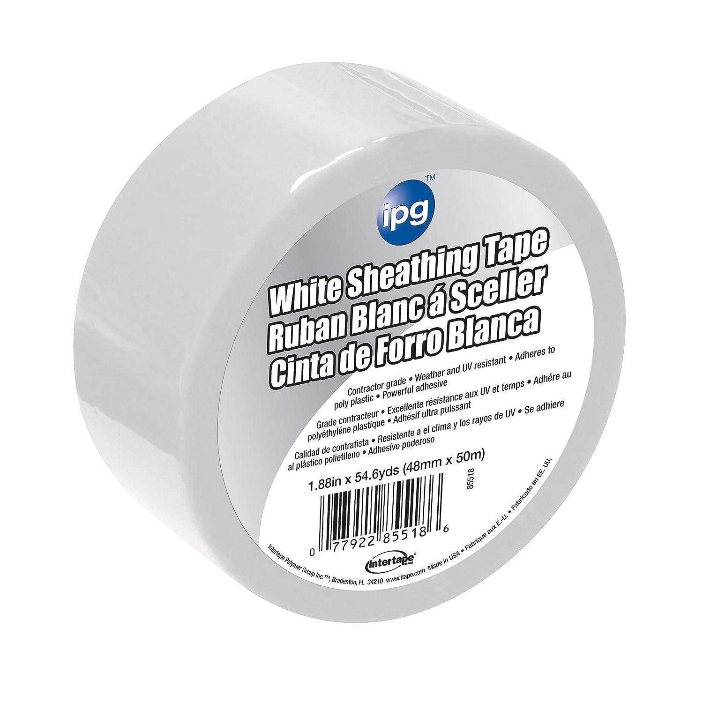Intertape Polymer Group 5936USW Sheathing Tape, 2.36-Inch x 54.6-Yard, White