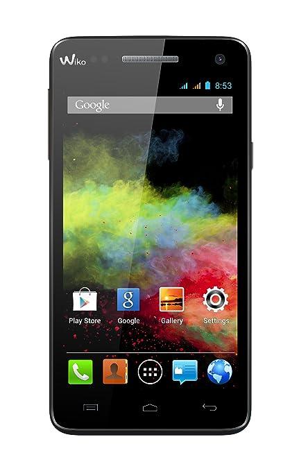 397 opinioni per Wiko Rainbow Smartphone, Dual SIM, Nero