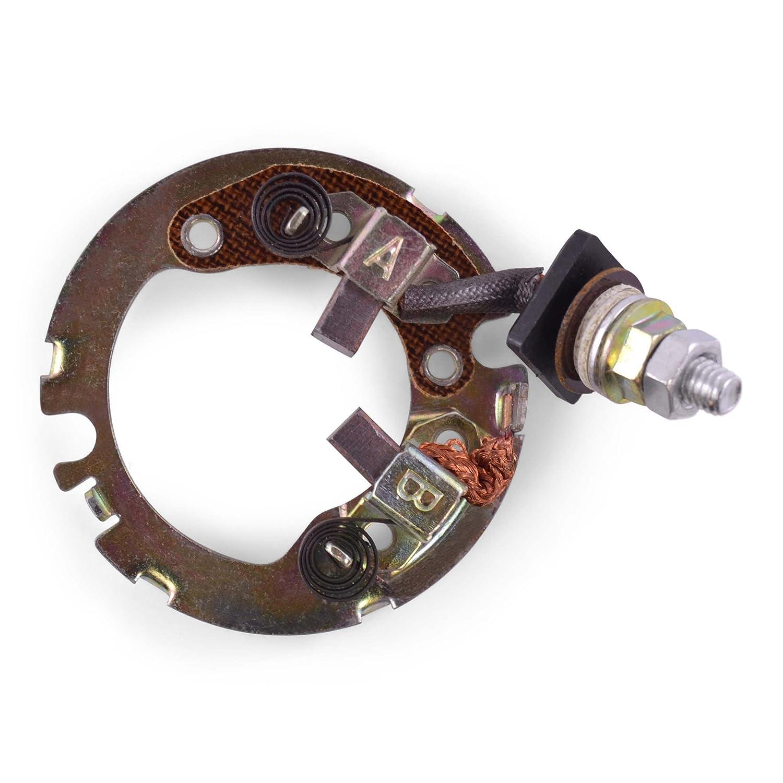 Starter Brush Plate Repair Kit (2) Mitsuba Arctic Cat 375 400 500 2002-2007 / Suzuki DRZ 250 400 GSXR 600 700 2000-2007 RMSTATOR