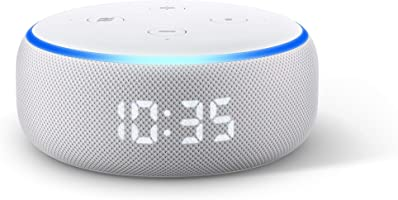 All-new Echo Dot (3rd Gen) - Smart speaker with clock and Alexa - Sandstone