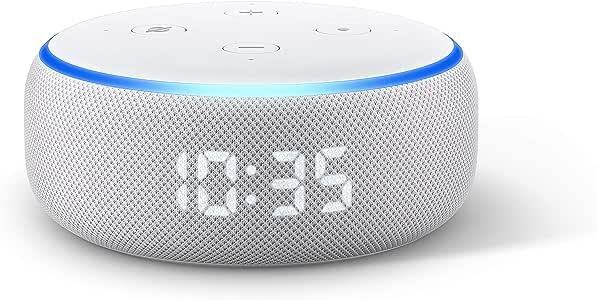 Echo Dot (3.ª generación) - Altavoz inteligente con reloj y Alexa ...