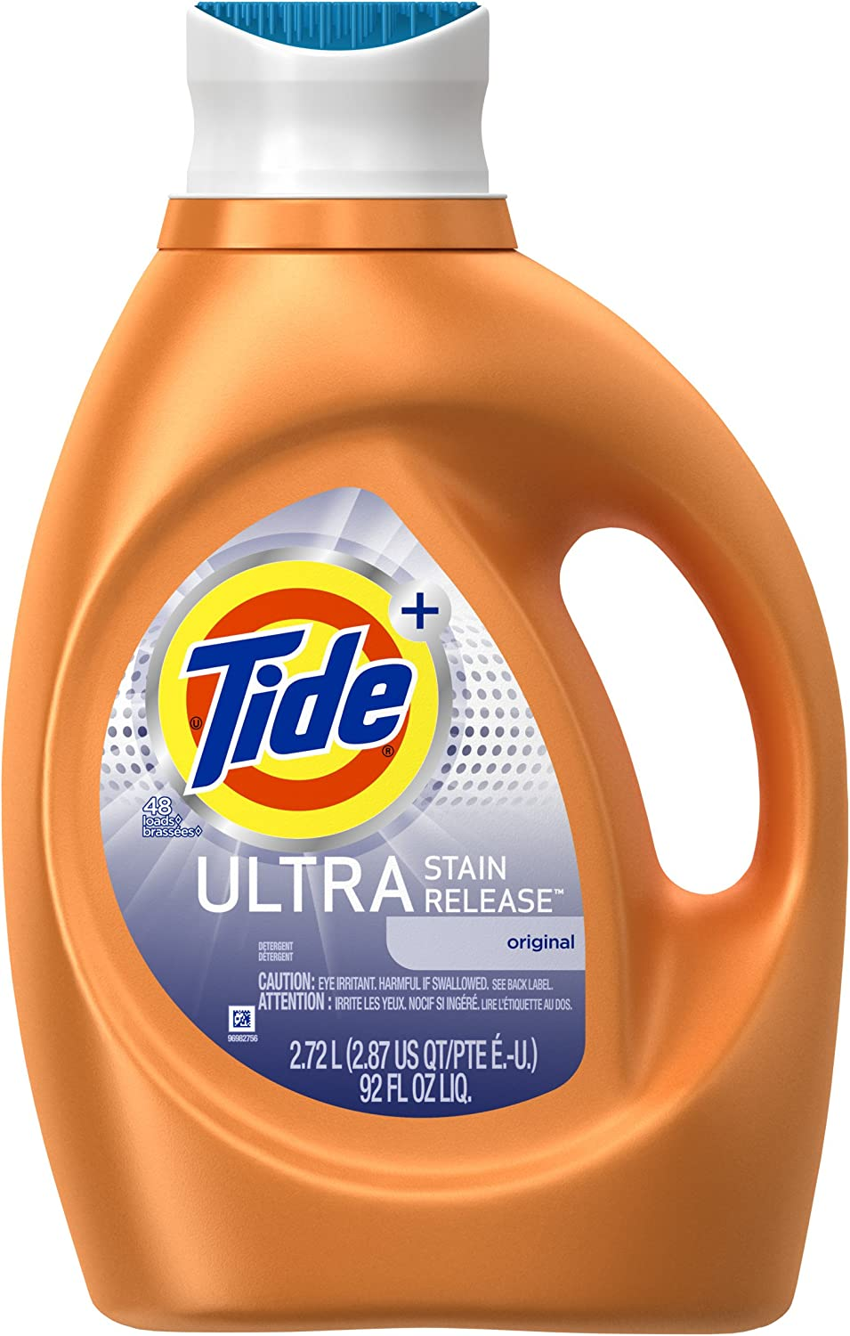 Tide Ultra Stain Release Liquid Laundry Detergent, Original - 92 oz
