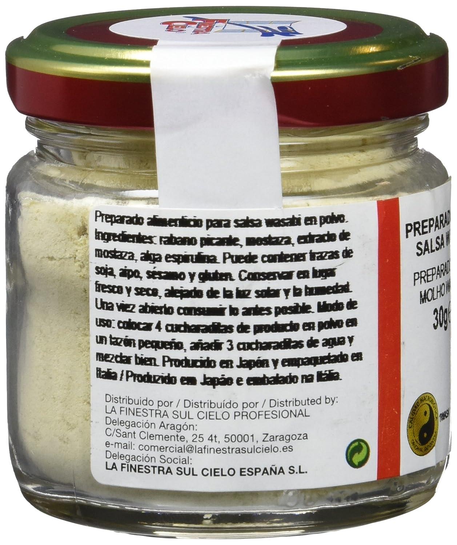 La Finestra Sul Cielo Salsa Wasabi - 30 gr: Amazon.es: Alimentación y bebidas