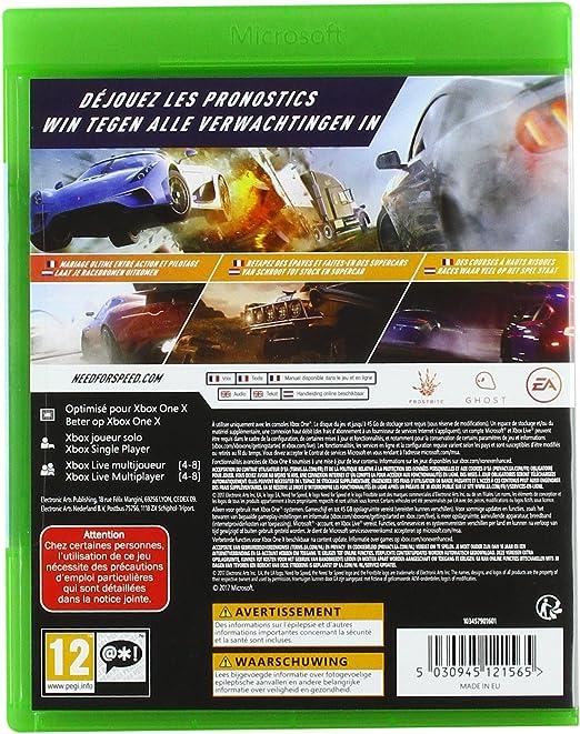 Need for Speed Payback - Xbox One [Importación francesa]: Amazon.es: Electrónica