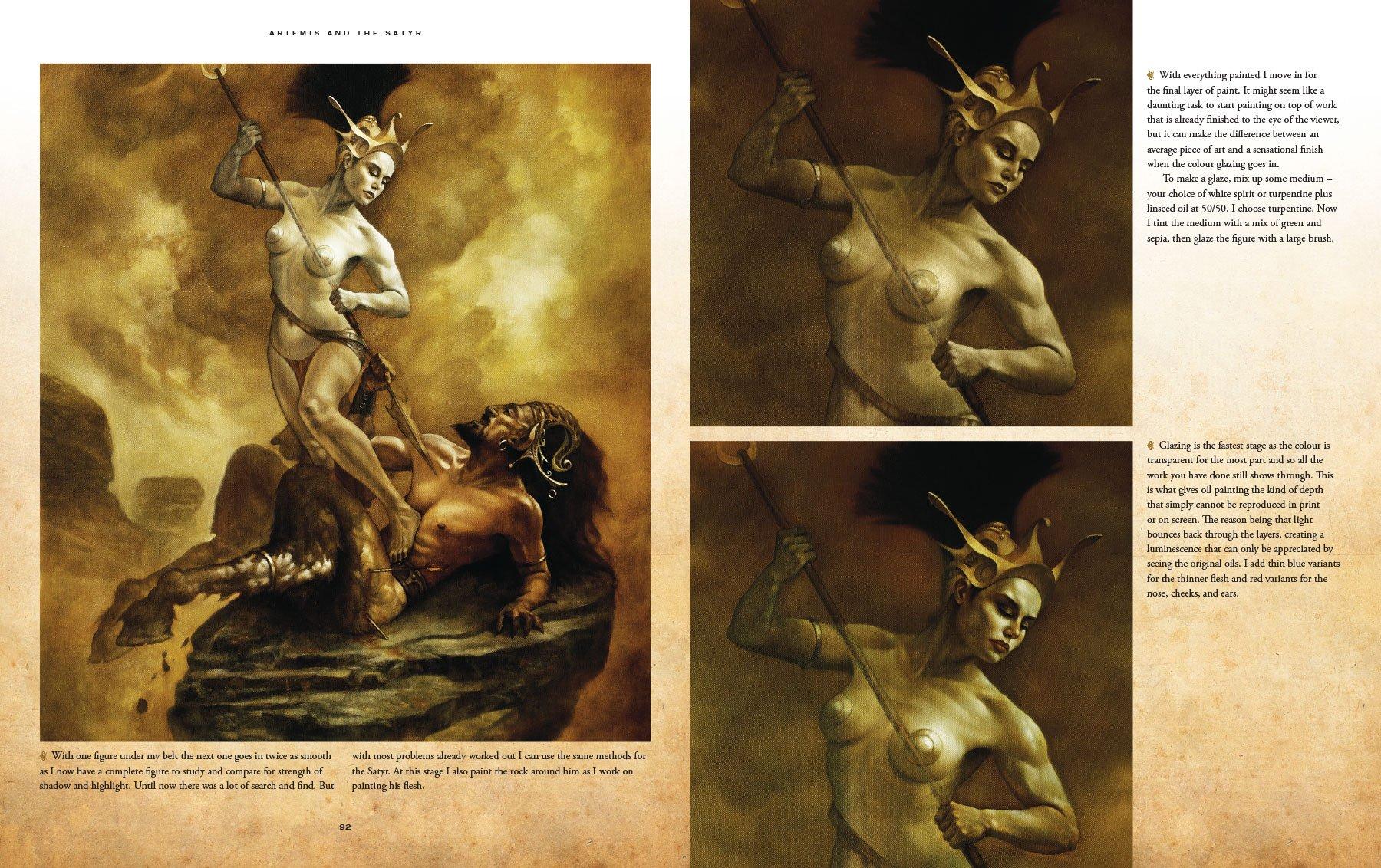 Sci Fi Fantasy Oil Painting Techniques Amazoncouk Patrick J Jones Boris Vallejo 9780957664937 Books