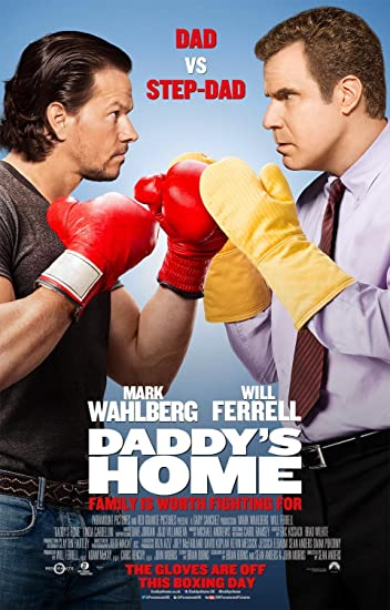 Poster of Daddy's Home 2015 Full English Movie Download BluRay 720p
