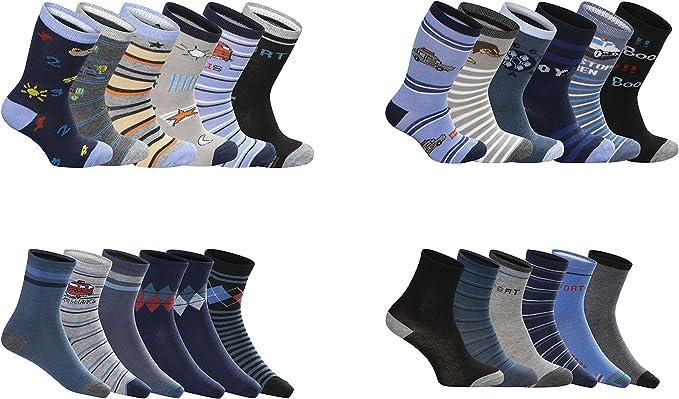 5 Paar Kindersocken Gr. 38 35-38 mehrfarbig NEU X