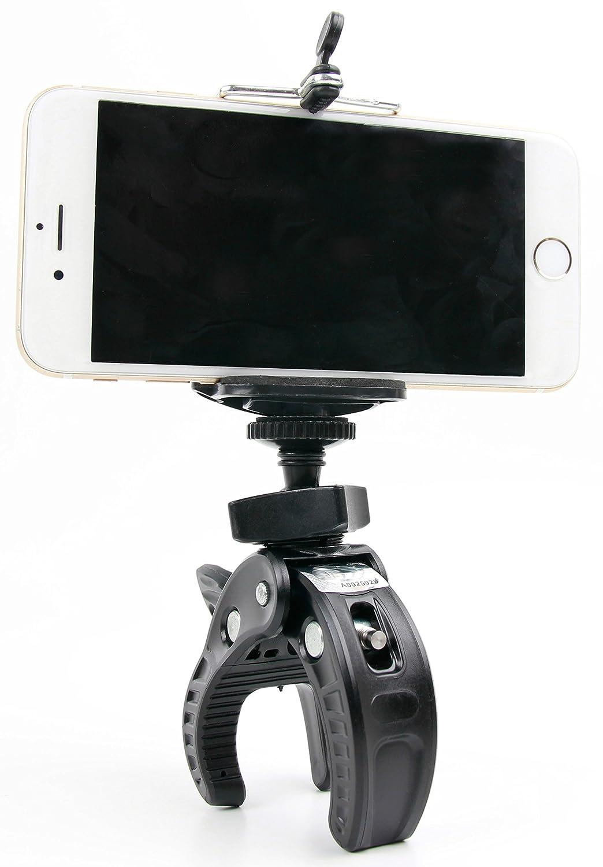 DURAGADGET Kit Supporto Bicicletta Nilox Mini Wi-Fi//Mini UP F-60 Reloaded // MM93 Accessorio per Smartphone 4K+ // 4K