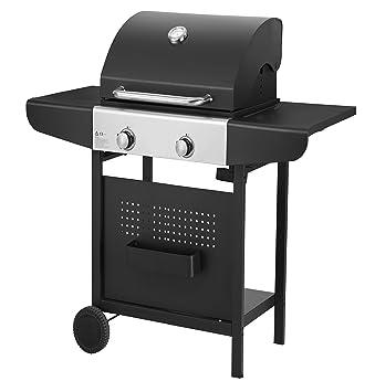 Barbacoa Grill Cocina de exterior a gas Qlima okg102 2 Fuegos 6000 W – outdoor