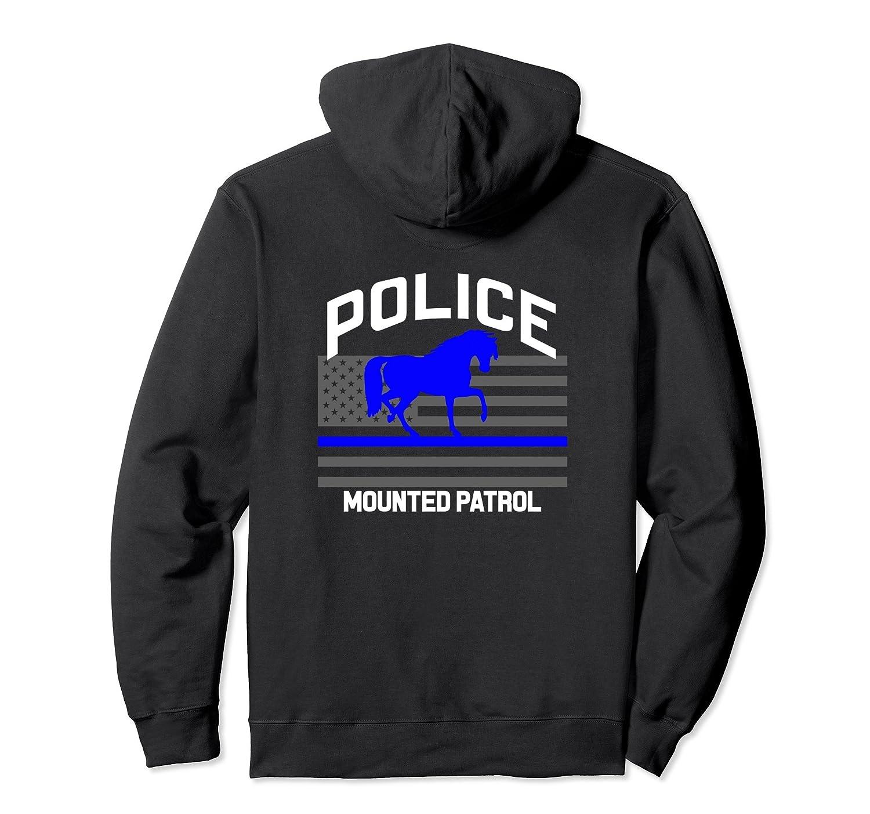 Police Officer Mounted Patrol Hoodie Cops Law Enforcement-fa