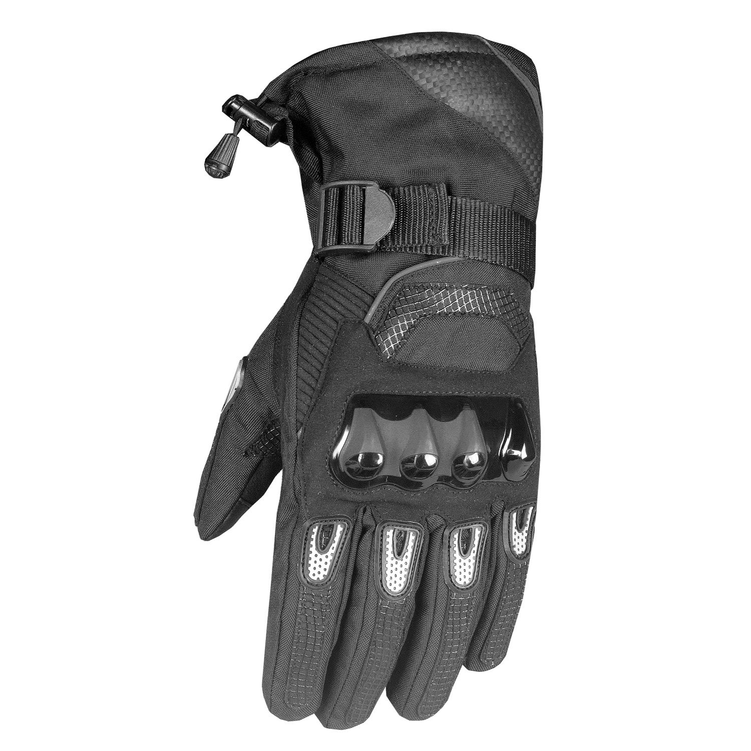 Glaze Men's Motorcycle Thinsulate Winter Waterproof Biker Windproof Gloves XL