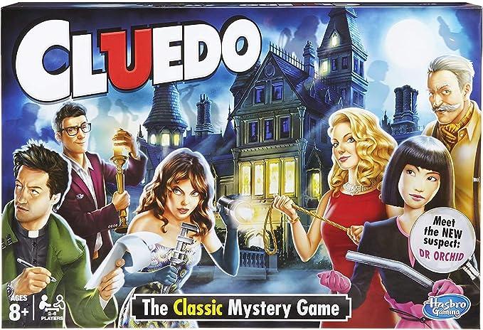 Hasbro Cluedo - Juego para niño: Amazon.es: Juguetes y juegos