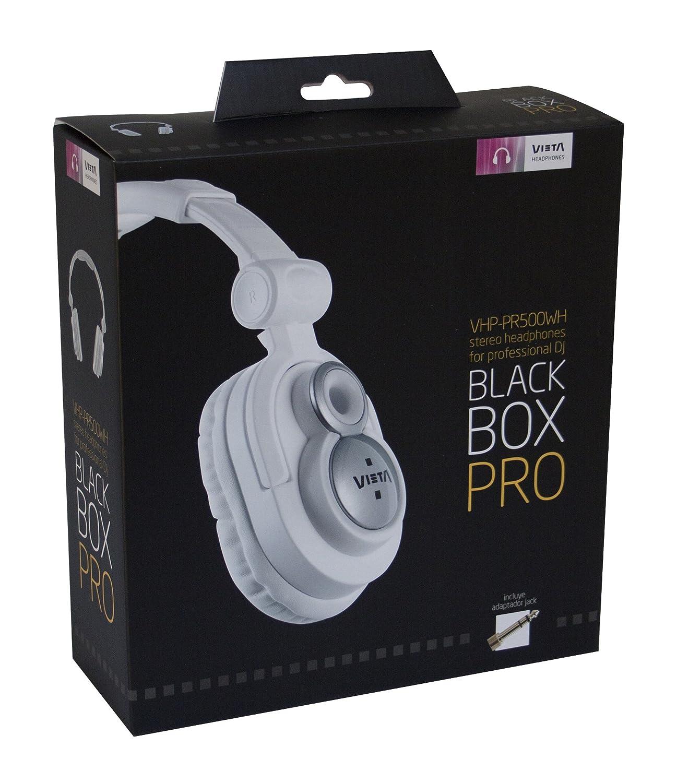 Vieta VHP-PR500WHP - Auriculares de diadema cerrados, color blanco: Amazon.es: Electrónica