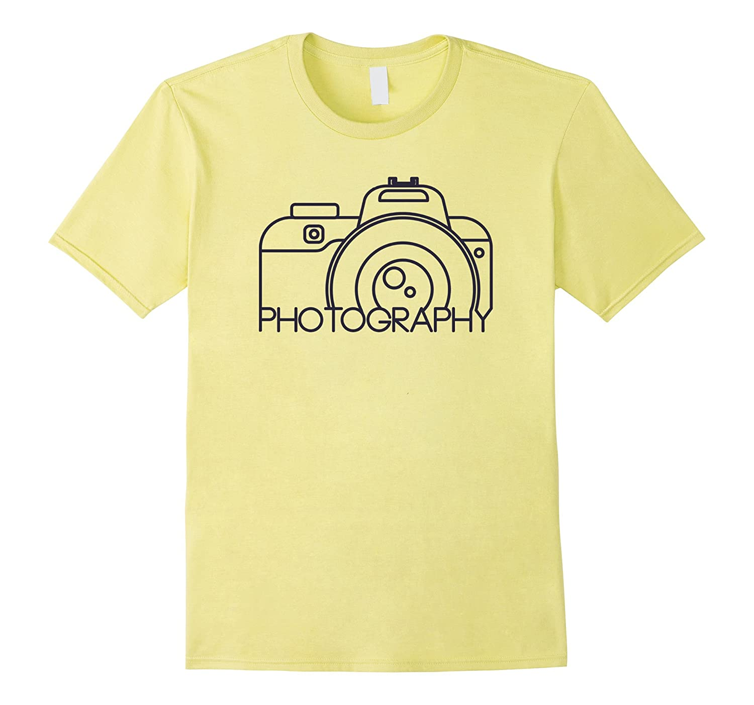 5ed2614bd4 Photography T-shirt Cool Camera Photographer Top Tee-ANZ ⋆ Anztshirt