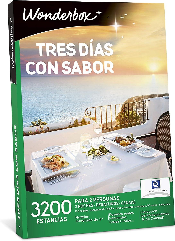 WONDERBOX Caja Regalo -Tres DÍAS con Sabor- 3.200 estancias para ...