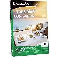 WONDERBOX Caja Regalo para mamá -Tres DÍAS con Sabor- 3.200 estancias para Dos Personas