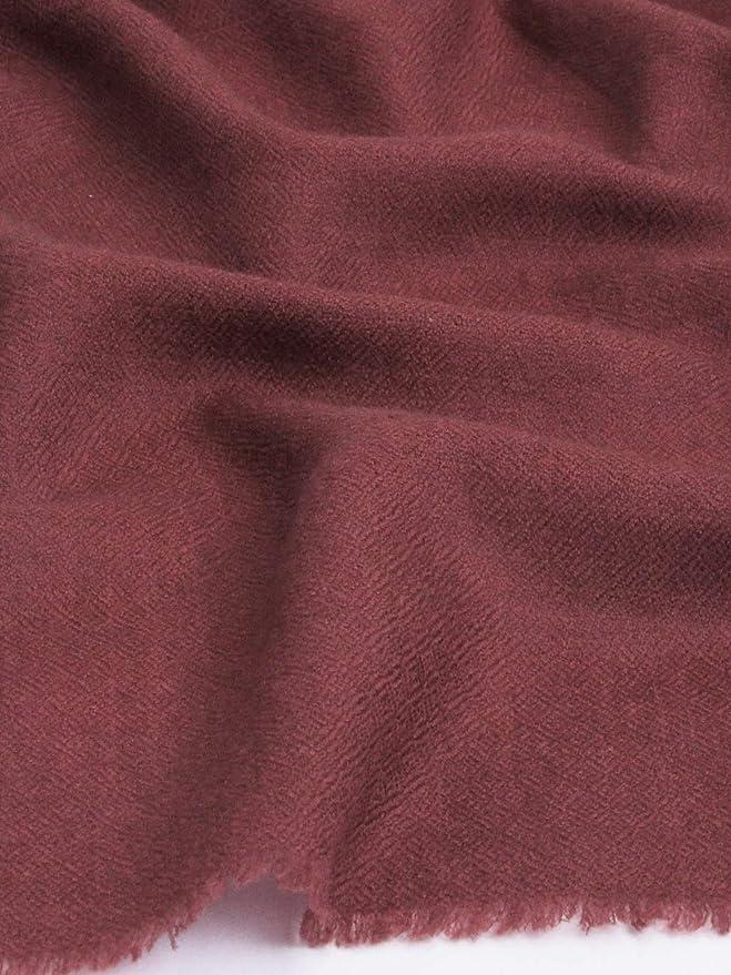 b32e3d61e69a Cachemire Ressentir La laine Soie Mélange Écharpe Pashmina Barn Rouge   Amazon.fr  Vêtements et accessoires