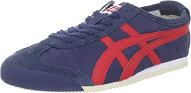 onitsuka tiger mexico 66 black and red azul
