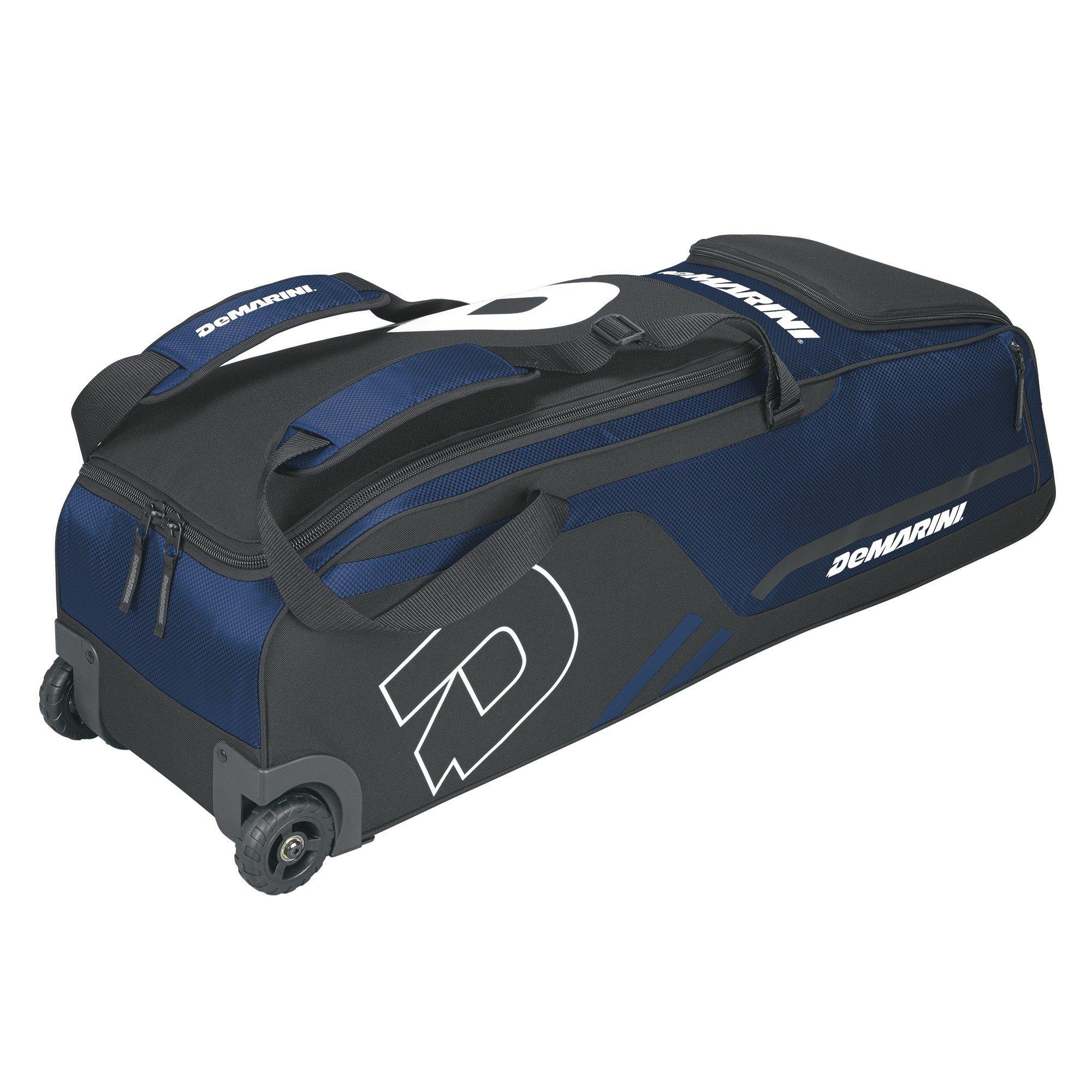 DeMarini Momentum Wheeled Bag, Navy by DeMarini