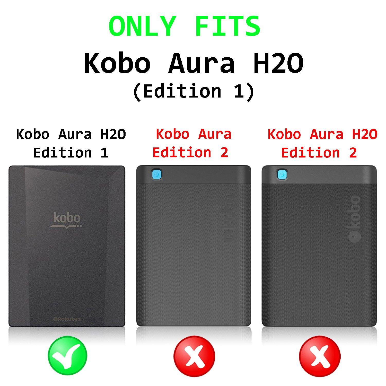 Forefront Cases Kobo Aura H2O Edition 1 1ª Generación Origami ...