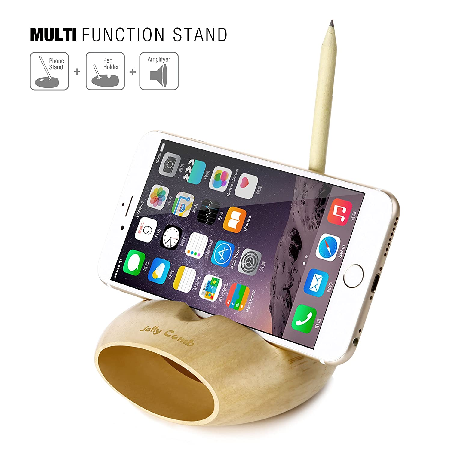 Amazoncom Cell Phone Charging Dock Jelly Comb Desk Stand iPhone