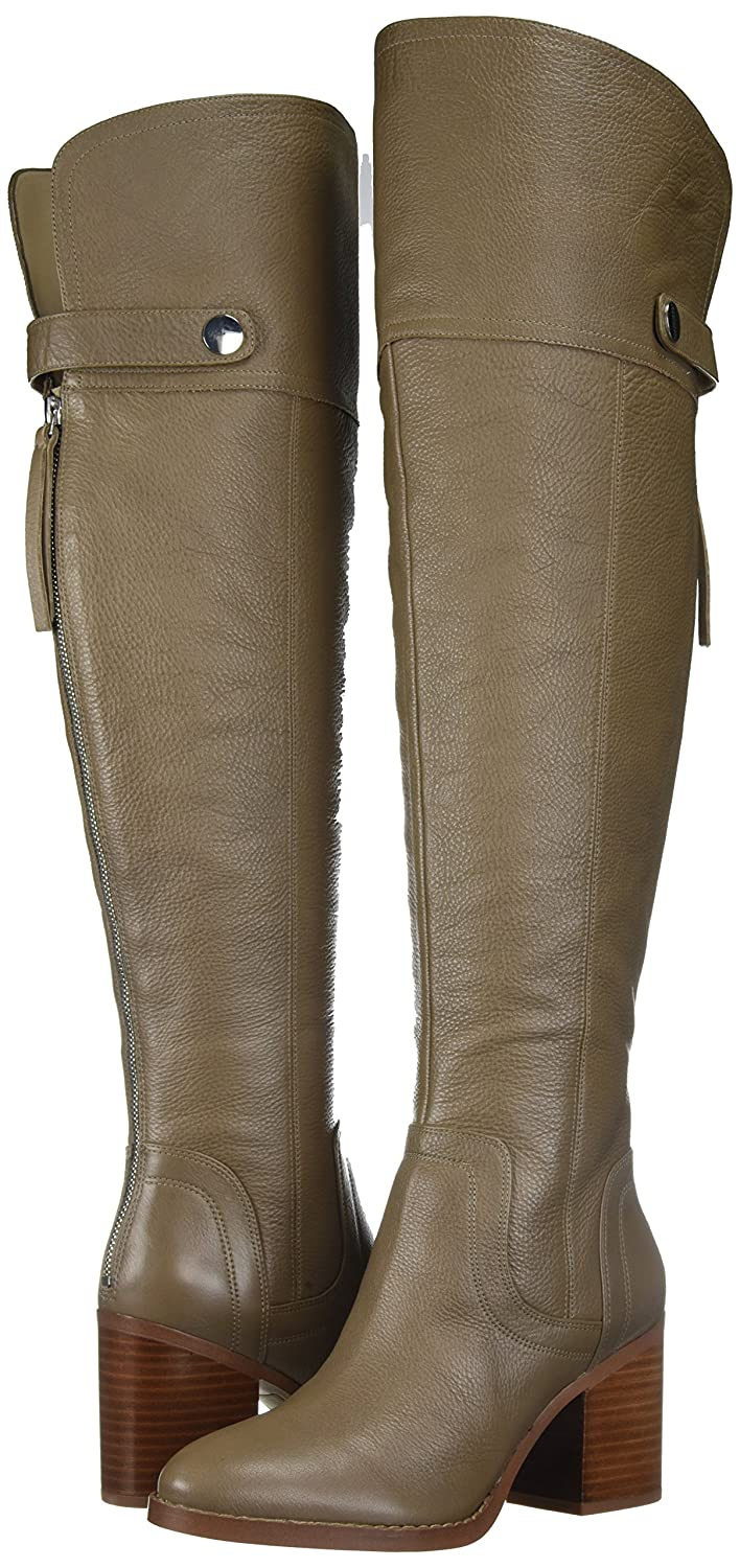 Franco Sarto Women's The Ollie Wide Calf Over The Women's Knee Boot B073YD4X56 6.5 B(M) US|Dover Taupe 540d79