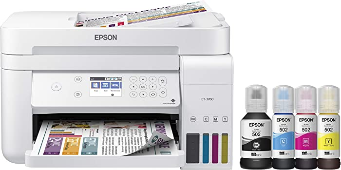 Top 7 Home Printers All In One Wireless Eco Tank