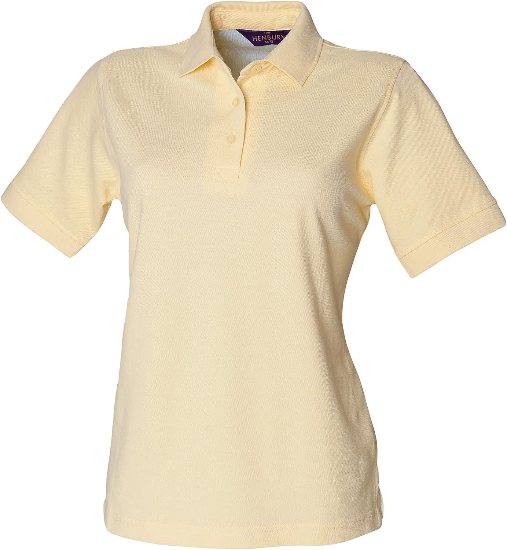 Henbury Ladies Cotton Polo Shirt Mujer: Amazon.es: Ropa y accesorios